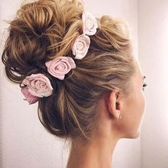 So cute!!!  We check out our last blog post! We shared some awesome up do styles you'll love. www.hairtru.com