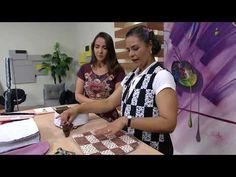 (53) Bolsa transversal patchwork por Lígia Mara - 01/09/2017 - Mulher.com - P2/2 - YouTube