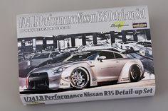 LB Performance Nissan Detail-up Set Nissan R35, R35 Gtr, Wide Body Kits, Metal Pins, Tamiya, Mounting Brackets, Radiators, Multimedia, Decals