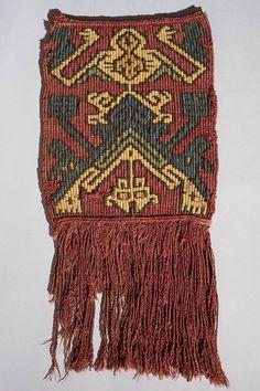 nazca8. Tapiz Peruvian Art, Peruvian Textiles, Inca, Kilims, Archaeology, Textile Art, Fiber Art, Aztec, Weaving