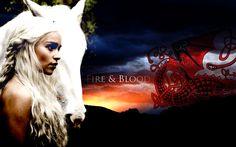 movies Game of Thrones A Song Of Ice And Fire TV series Emilia Clarke Daenerys Targaryen House Targaryen  / 1280x800 Wallpaper