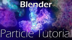 Blender particle simulation tutorial: Smoke Flow & Particles