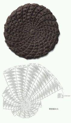 Exceptional Stitches Make a Crochet Hat Ideas. Extraordinary Stitches Make a Crochet Hat Ideas. Crochet Beret Pattern, Bonnet Crochet, Crochet Beanie Hat, Crochet Cap, Crochet Gloves, Beanie Pattern, Crochet Baby Hats, Crochet Motif, Crochet Stitches