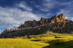 Sella group in the morning by Francesco Damin on 500px