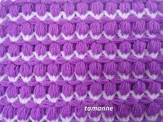 Kare Helezon Şekli Lif,Bebek Battaniyesi Yapımı - YouTube
