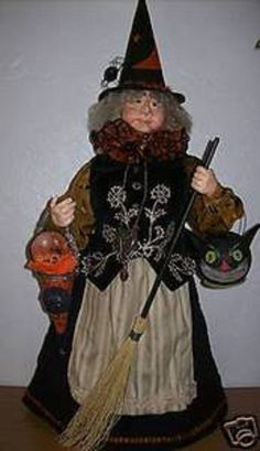 "BETHANY LOWE HALLOWEEN ""THERE WAS AN OLD WITCH"" LIMITED EDITION RTL: $850.00 NWT"