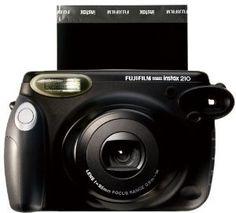 Fujifilm Instax 210 Instant Film Camera - Instant Film - Black