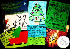 Students can complete a fun Christmas tree activity after reading The Great Spruce.