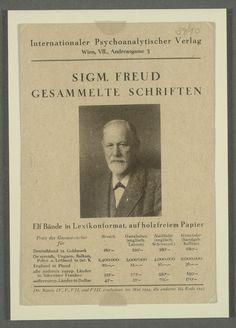 Sigm. Freud Gesammelte Schriften, Elf Bände in Lexikonformat, auf holzfreiem Papier