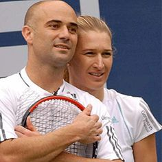 Beautiful tennis couple <3