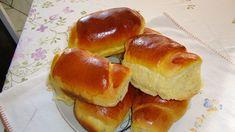 Homemade Bread - CaarapoNews - The Number 1 Caarapó Sweet Recipes, Real Food Recipes, Bread Recipes, Cake Recipes, Brazillian Food, Brioche Bread, Biscuit Bread, Portuguese Recipes, Sweet Bread