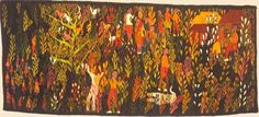 Azaria MBATHA - a large tapestry from 1968