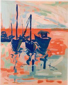 Image of Sunset Dock *PRINT*