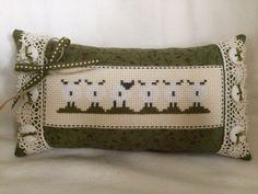 Sheep cross stitch