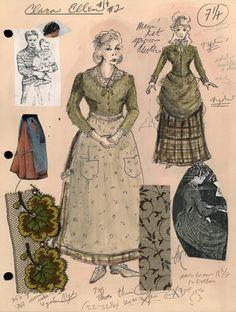 Clara Ellen - Lonesome Dove by Van Broughton Ramsey