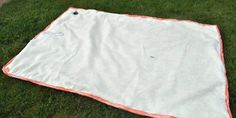 DIY water proof beach/park blanket. Use vinyl tablecloth on bottom (or top) and towels, sheet or fabric on the opposite side.  I've been looking for something like this ;))