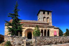 (0159) Iglesia de San Miguel. - Sotosalbos (Segovia).