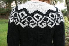 Saga  Icelandic wool sweater by GMGknitting on Etsy, $230.00