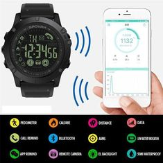 YOU LOVE SMARTWATCHES, ACTIVE LIVING AND TAKING RISKS IN NATURE BUT YOUR NEW WATCH ISN'T STRONG ENOUGH TO KEEP UP WITH YOUR PACE? INTRODUCING TACT TIME ELITE, A SMARTWATCH DESIGNED TO WITHSTAND EVEN THE MOST RIGOROUS MILITARY TRAINING WITHOUT SUFFERING A SCRATCH! Nintendo Switch, Handy Smartphone, Remote Camera, Military Training, Samsung, Sport, Casio Watch, Watches For Men, Black Watches