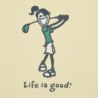 Unique golf gifts should be both functional and memorable. But due to the wide choices on hand these days, choosing which particular golf merchandise to present Girls Golf, Ladies Golf, Women Golf, Golf Ball Crafts, Golf Art, Golf Exercises, Perfect Golf, Golf Training, Golf Quotes