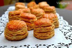 Oškvarkové pagáče (fotorecept) Clean Recipes, Cooking Recipes, Slovak Recipes, Turkey Cake, Savoury Baking, Salty Snacks, Cheese Recipes, Food To Make, Food And Drink