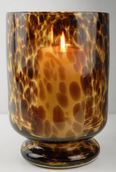 Tortoise Shell candle holder