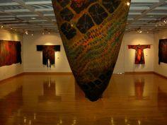 Carter Smith, a master. shibori museum, museum piec
