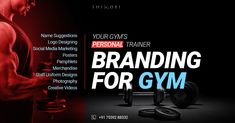 While you help others lift heavy weights, we'll help you lift your brand value. For complete branding or re-branding solutions for your gym.