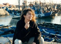 Jane Birkin in Essaouira shot by Gabrielle Crawford on February 1st 2002 | Stylist Ricardo Martinez Paz
