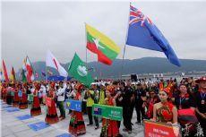International dragon boat race opens in Kunming