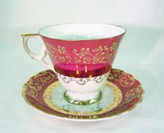 Exceptional Vintage Cup and Saucer from by RichardsRarityRealm