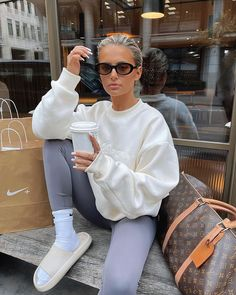 Chill Outfits, Summer Outfits, Casual Outfits, Cute Outfits, Fashion Outfits, Womens Fashion, Winter Fits, Autumn Winter Fashion, Lounge Wear