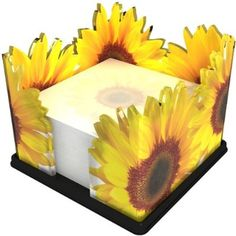 Sunflower Themed Kitchen, Sunflower Bathroom, Sunflower Room, Sunflower Kitchen Decor, Sunflower Seeds, Be Like A Pineapple, Farmhouse Decor, Farmhouse Furniture, Note Holders
