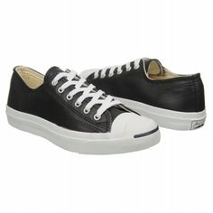 hot sales 8b28a 9dba1 I loves me some Converse Jack Purcells! fresh blackleather White  Converse Mens,