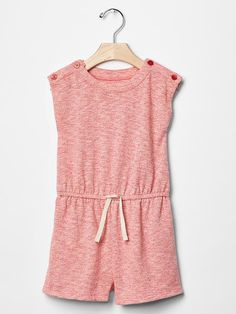 Marled romper Product Image