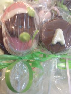 Baby Shower Chocolate Lollipops