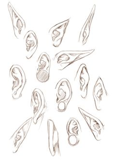 model d'oreille fantaisy
