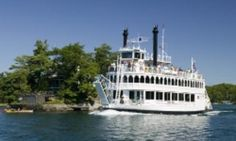 Kingston 1000 Islands Cruises. Enjoyable cruise on a nice hot sunny day... followied by a very good sea food dinner.