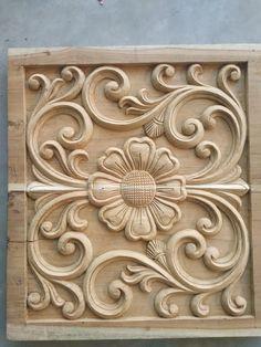 Wooden Front Door Design, Wooden Front Doors, Wood Carving Designs, Wood Carving Art, Stone Fountains, Wood Artwork, Entrance Design, Wood Stamp, Wooden Projects