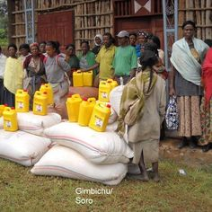 Our Grain crew efforts help shift families from hunger to hopefulness. www.rootsethiopia.org