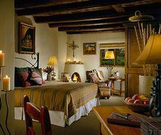 Most Romantic Hotel Fireplaces: La Posada de Santa Fe Resort & Spa, NM