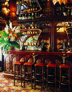 Maxim's - Paris - Art Nouveau- #LadyLuxuryDesigns