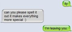 10 Funny Breakup Text Messages