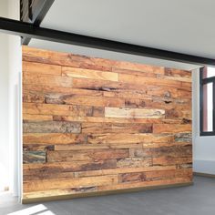 Vintage Barn | Wall Mural | WallsNeedLove  Really cool wall murals to modernize your apartment. These are peel and stick and temporary. 30 pages of options!