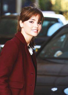 Jenna Coleman Jenna Coleman, Doctor Who Companions, Non Blondes, Beautiful People, Beautiful Women, Clara Oswald, Brunette Beauty, British Actresses, Beautiful Actresses