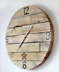 Découvrez 5 idées DIY pour réaliser une superbe horloge en bois tendance, de style rustique. Tutoriels, matériel et étapes de réalisation.