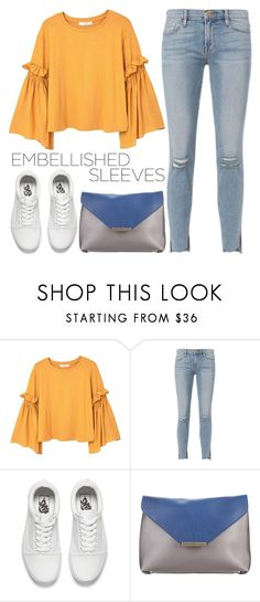 """she's got a trick up her sleeve"" by alittletasteofwonderland ❤ liked on Polyvore featuring MANGO, Frame, Vans and Emilio Pucci"