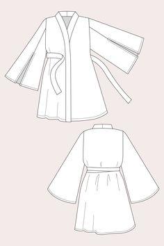 Asaka Kimono - Named