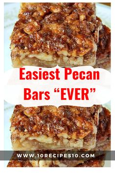 I love serving easy to make bars at a gathering. These Pumpkin Pecan Pie Bars an… I love serving easy to make bars at a gathering. These Pumpkin Pecan Pie Bars and Caramel Chocolate Pecan Bars are also a family favorite Pecan Pies, Pecan Desserts, Pumpkin Pecan Pie, Pecan Pie Bars, Pecan Cake, Pecan Recipes, Recipe For Pecan Pie, Easy Caramel Recipe, Easy Pecan Pie