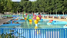 The outdoor splash pool was the perfect way to cool off on a hot day at Butlins Minehead!   http://www.tantrumstosmiles.co.uk/2017/08/our-family-holiday-at-butlins-minehead.html